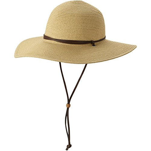 Columbia Women's Global Adventure Packable Hat, Straw, Large/X-Large by Columbia
