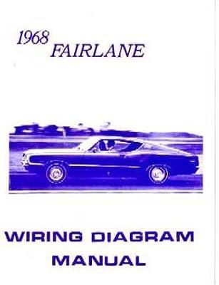 amazon com 1968 ford fairlane wiring diagrams schematics 1968 ford fairlane wiring diagram