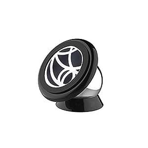 Superideal Universal Magnético Soporte para todos smartphone para coche soporte montaje sostenedor (Negro) prara Télefono móvil