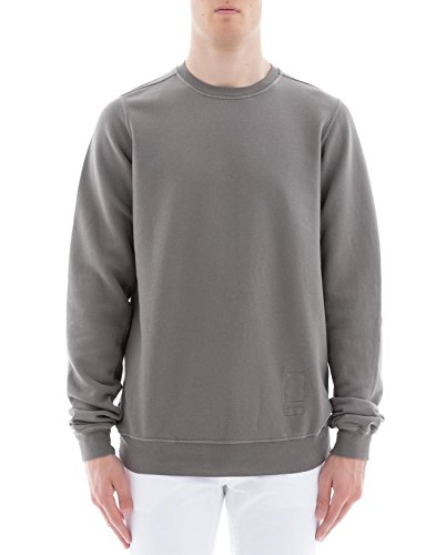 DRKSHDW BY RICK OWENS Men's Du18s3270f34 Grey Cotton Sweatshirt
