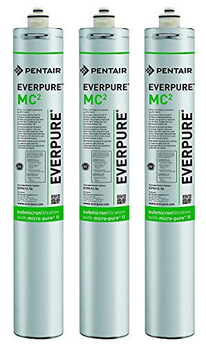 (Everpure EV9612-56 MC2 Filter Cartridge (Pack of 3))