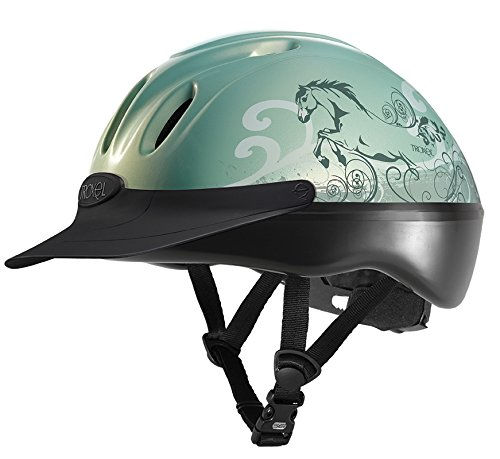 Troxel Spirit Duratec Helmet, Black, Small