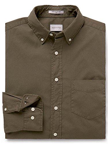 GANT Men's 18013082632362 Brown Cotton Shirt by GANT (Image #2)