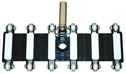 well2wellness® Bodensauger / Poolsauger '12-Rad Flex' mit 48 cm Saugbreite