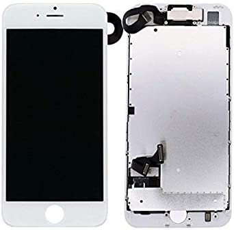 Fit Compatible with iPhone 8 LCD 3D Touch Display Digitizer with Ear Speaker SDYXJ Screen Replacement Compatible with iPhone 8 Full Assembly Sensors and Front Camera Black