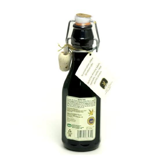 De Nigris Premium Organic Balsamic Vinegar of Modena - 1/250ML 2 Organic Balsamic Vinegar of Modena made with 55% Grape Must Certified organic Non-GMO