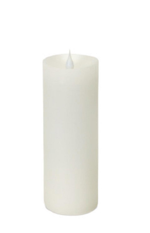 パックの4ホワイトFlameの移動LED照明付きピラーFlameless Candles withタイマー7
