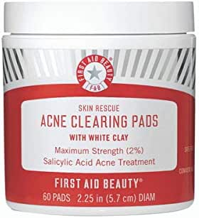 Facial Cleansing Wipes: First Aid Beauty Acne Clearing Pads