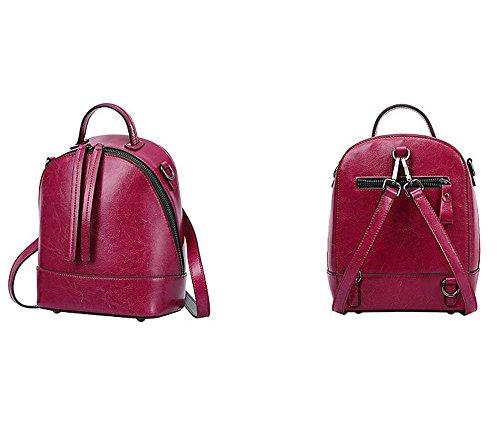 YANX Signora Moda Piccolo zaino borsa delle signore Borsa a tracolla Tote (18 * 24 * 11cm)