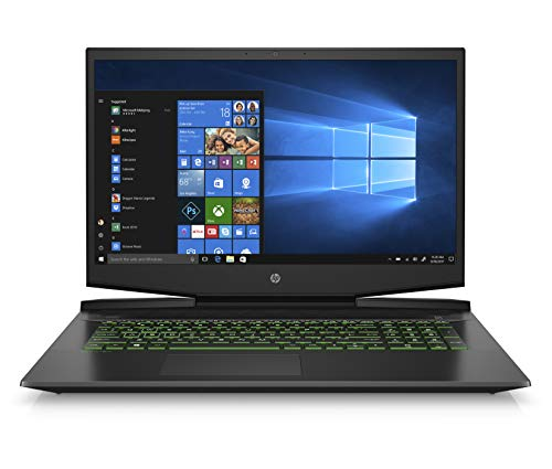 HP Pavilion 17-Inch Gaming Laptop, Intel Core i5-9300H,...