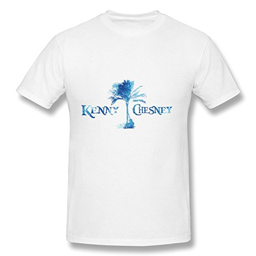 [Kenny Chesney Tour 2016 Logo Design Mens T-Shirts White] (Kenny Chesney T-shirt)