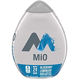 Mio Blueberry Lemonade Liquid Water Enhancer Drink Mix (1.62 fl oz Bottle) (10043000005498), Set of 2