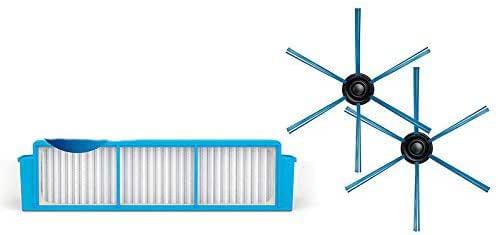 YTT para aspiradora Philips Robot FC8796 FC8794 FC8792 Filtro HEPA * 2 + cepillo lateral * 2 filtros de repuesto: Amazon.es: Hogar