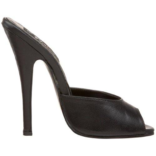 Sandal Women's Pleaser Leather Black 101 Domina wRxSqUfY