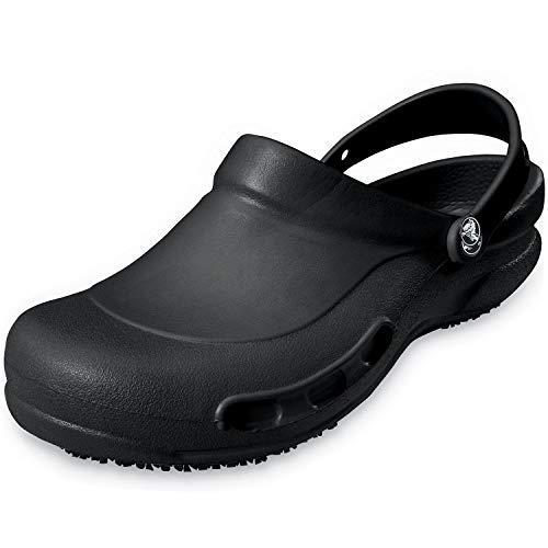 Crocs Bistro/Work Shoe for Adults, Size: 11 D(M) US Mens, Color: Black by Crocs
