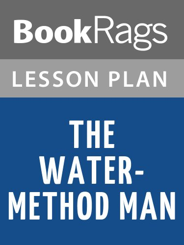 Lesson Plans The Water-method Man