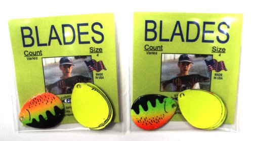 Colorado Blades - Size 4 - BLFT-4 - Count Varies By Color (Blade Harness)