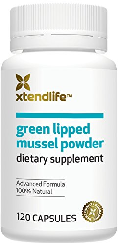 Xtend-Life Green Lipped Mussel Powder for Joint Health and Healthy InflammationManagement, 100% New Zealand Green Lipped Mussel Powder, Immune Support, 120 Capsules