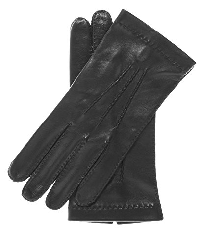 Fratelli Orsini Men's Handsewn Italian Unlined Leather Gloves Size 8 Color Black