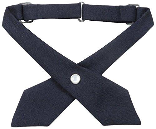 Uniform French (Girls' School Uniform Cross Tie By French Toast (Navy))