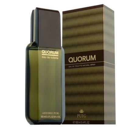 Quorum By Puig Cologne Men 3.4 Oz 100 Ml Eau De Toilette Spray New in Box