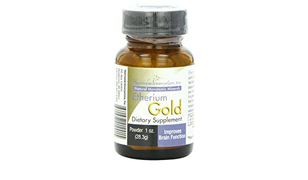 Amazon.com: Harmonic Innerprizes Etherium Gold Powder: Health & Personal Care