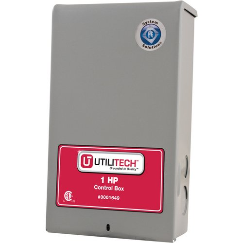 UtiliTech 1-HP 230-Volt Conrol Box Item # 1649 Model #UT305CB UPC# 054757083274