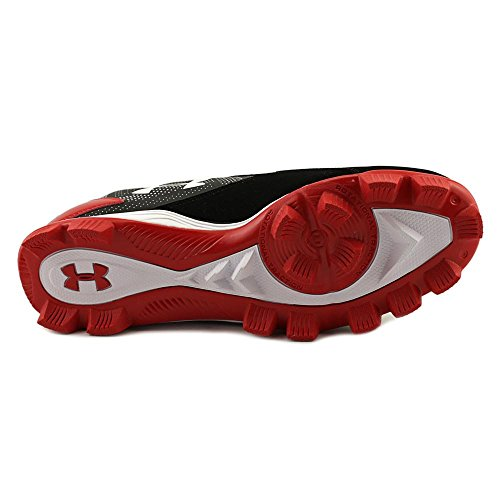 Under Armour Hombre UA Leadoff bajo RM tacos de béisbol Blk-Red