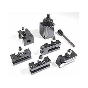 """AXA Quick Change Wedge Type Tool Post Set 6-12"""" - Tap And Die Sets"""