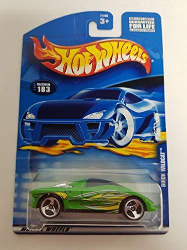 - Buick Wildcat 2000 Hot Wheels 1/64 scale diecast car No. 183
