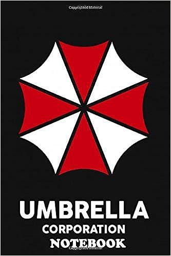 Notebook Umbrella Corporation Logo Of The Resident Evil Gamefil