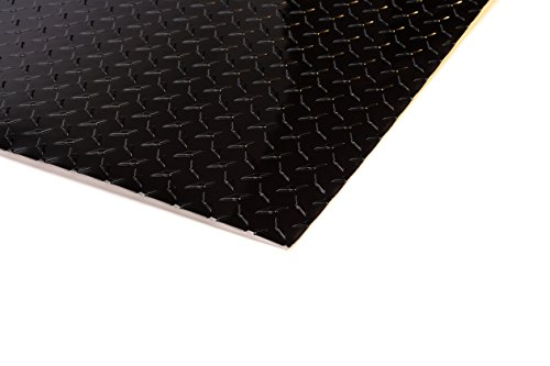 4' x 8' Aluminum Diamond Plate Sheet - BLACK - Diamond Aluminum Black Plate