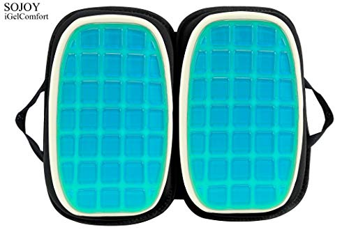 Sojoy Igelcomfort 3 In 1 Foldable Gel Seat Cushion Featured Import