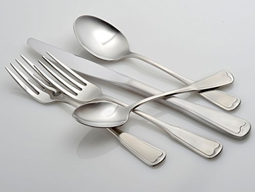 Liberty Tabletop Satin Richmond 20 Piece Flatware Set service for 4 stainless steel 18/10 Made in USA by Liberty Tabletop (Image #1)