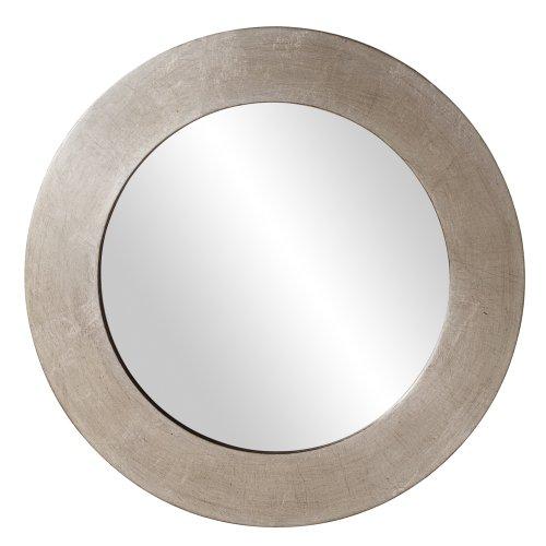 Howard Elliott 60200 Sonic Round Mirror, Silver - Round Silver Mirror