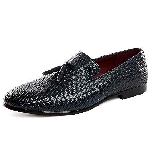保存交通渋滞ガレージメンズカジュアルLeathe靴大型ピーズ靴Wish Set Foot ShoesメンズドライビングシューズFashion Lazy Shoes