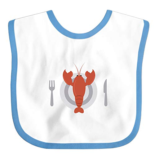 Cuisine Lobster Custom Baby Boy Bibs and Burps