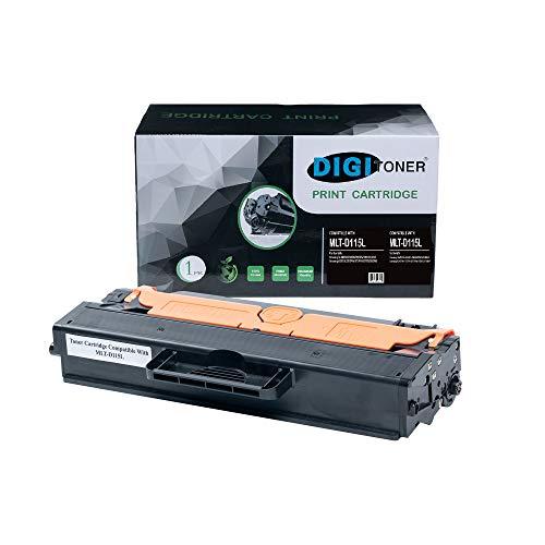 TonerPlusUSA Compatible MLT-D115L Toner Cartridge - MLT-D115L High Yield Toner Cartridge Replacement for Samsung Laser Printer - Black [1 Pack]