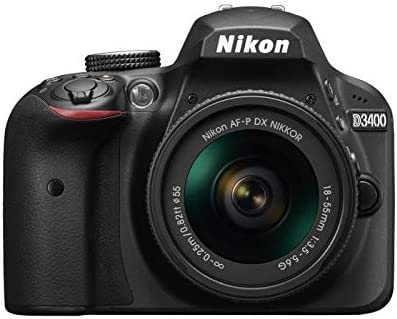 "Nikon D3400 + 18-55 AFP DX, Cámara réflex digital de 24,2 Mp (pantalla LCD 3"", objetivo estabilizado, inalámbrica con Snapbridge, vídeo Full HD), color negro: Amazon.es: Electrónica"