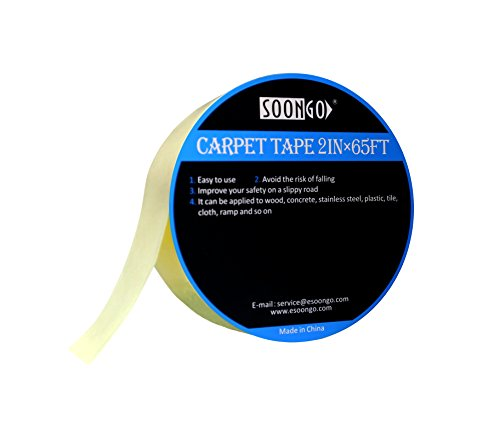 Double Sided Carpet Tape Rug Non Slip Cloth Tape Indoor Outd