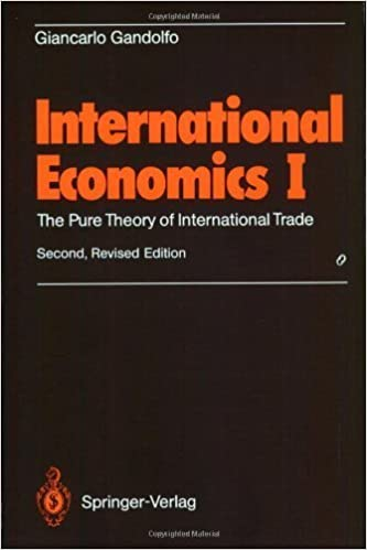 Book International Economics I by Gandolfo, Giancarlo. (Springer,2008)