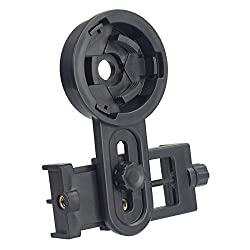 Solomark Smartphone Capturer For Iphone Android & Windows Smartphones. Compatible With Binoculars Monocular Spotting Scopes Telescopes & Microscopes- Get Your Mobile Phone Into Video Camera & Image Capturer In Distant, Tiny World- Check Out The Instructions On How To Use Smartphone Capturer In The Pictures