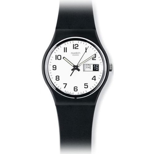 with strap quartz dp watches unisex co amazon black swatch plastic watch uk analogue
