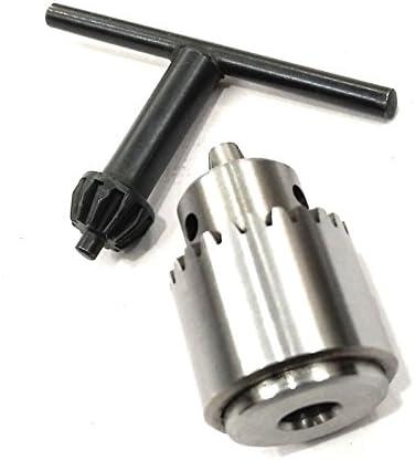 Micro Small Drill Adaptor 1//2 Shank /& JT0 Taper Chuck-Lathe,Mill Drill