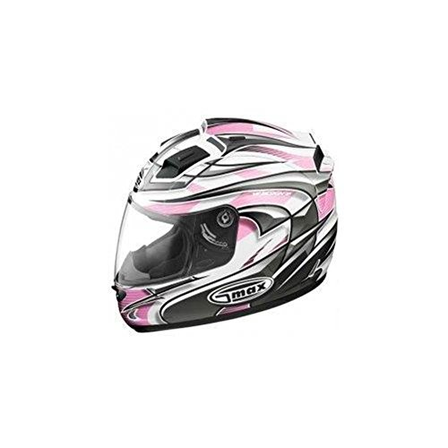 G-Max LED Top Vent for GM68 Helmet - White/Pink Max 980193