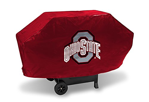 Ohio State Buckeyes Grill Cover - Ohio State Buckeyes Deluxe 68-inch Grill Cover