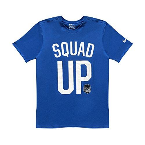 Nike Männer Nike läuft dieses Grafik T-Shirt Spiel Royal / Wolf Grey / Weiß / Schwarz