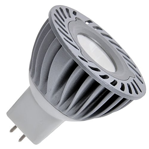Guli Bombilla Dicroica de Luz Neutra 4500 K MR16, 3.5 W, Plata, Ø50 x 55 mm: Amazon.es: Iluminación