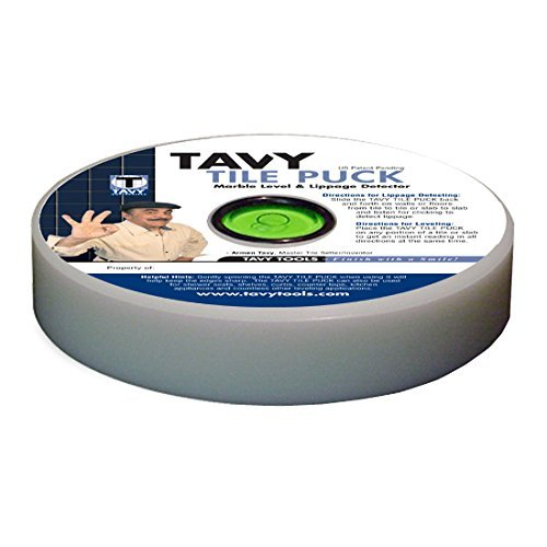 Tavy Tile Puck Marble Level& Lippage Detector by Tavy