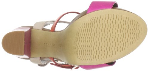Tommy Hilfiger Ashley 6, Escarpins femmes Vert (260 Pink/Red Orange)